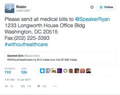 This Is A GREAT Idea! Send Your Unpayable Medical Bills To Speaker Paul Ryan!Signal Boost This Please! Phroyd