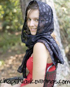 Head Coverings made by Susan Crowe