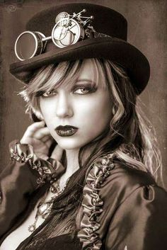 47 Real Badass Steampunk Girls #steampunk #women #fashion #costume #clothing #badass