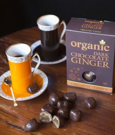 Organic Times Organic Dark Chocolate Ginger!