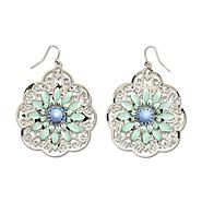 Dream Out Loud by Selena Gomez Junior's Polished Silvertone Daisy Drop Earrings at Kmart.com