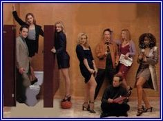 Ally McBeal - I still miss her, dancing baby and all..