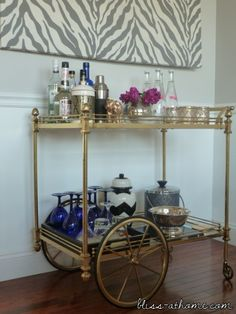What I'm Loving Right Now// Bar Carts