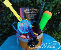 Music Movers & Shakers Easter Basket - Create a music themed basket for your little ones.  Tags: creative easter baskets | easy easter baskets | easter baskets for kids | diy easter baskets | easter baskets | easter baskets for boys | easter baskets for girls | easter baskets for toddlers | SuperMoms360.com