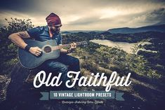 Old Faithful Lightroom Presets Vol 1 by Design Panoply on @creativemarket