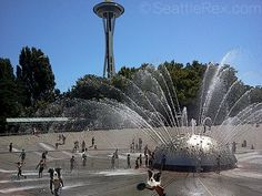 Fountain, Seattle Center