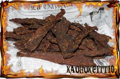 Jack Daniels Beef Jerky   savustettu kuivaliha