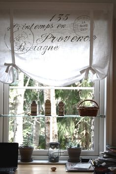 french script window treatment