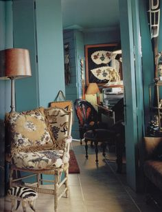 Iris Apfel's apartment