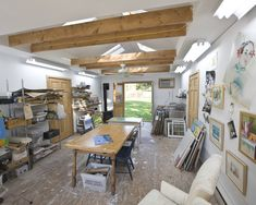 Convert Garage To Studio Design, Pictures, Remodel, Decor and Ideas - page 4