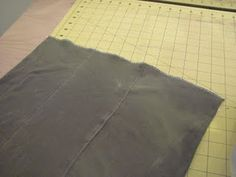 Here is a short tutorial on how to make a quick and easy,(and inexpensive), prefold diaper.