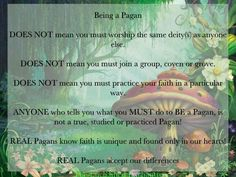 Being a Pagan ☾☆ ☽* ° ♥ ˚ℒℴѵℯ cjf