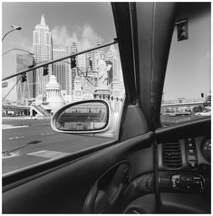 Lee Friedlander - Inside and Outside of cars can open up greater possibilities for composition