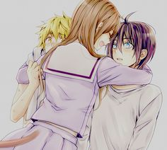 Noragami I love this scene. Almost made me cry lol
