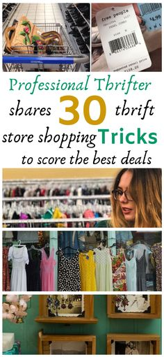 Professional Thrifter Shares The Best Thrift Store Shopping Hacks Everyone Needs To Know – Brilliant DIY Thrift Store Crafts You Should Totally Try Thrift Store Outfits, Thrift Store Shopping, Thrift Store Crafts, Shopping Hacks, Thrift Stores, Frugal Living Tips, Frugal Tips, Money Tips, Money Saving Tips