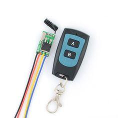 11.93$  Watch now - http://alixjs.shopchina.info/go.php?t=32710543504 - Wide Voltage RF Remote Switch Car Bus Motorcycle Truck Storage battery Light Lamp LED Mini Wireless Switch12V 13.8V 16V 24V 36V  #buyininternet