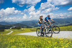 Mountainbiken in Flachau - DIE BERGQUELLE *** © www.bergquelle-flachau.at