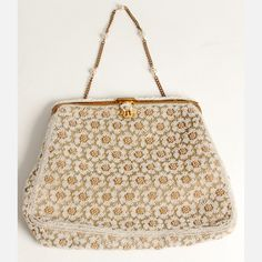 1920's french beaded purse