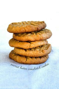 Gluten free slice and bake peanut butter cookies