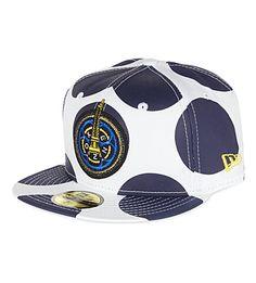 25c6f6f8c7c KENZO Spotted baseball cap (White navy
