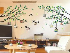 wall decal branch wall decal nursery wall decal office wall