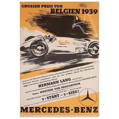 Another racing poster I had in my room as a kid - good memories