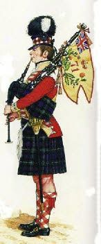 Piper 71st Highlanders before 1809 Osprey Men-at Arms Wellington´s Highlanders