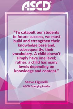 ASCD Emerging Leader Steve Figurelli explores why we may be approaching reading instruction all wrong. Growth Mindset, Fixed Mindset, Fantastic Quotes, Stem Challenges, Educational Leadership, Keep Trying, Professional Development, Problem Solving, Kids Learning