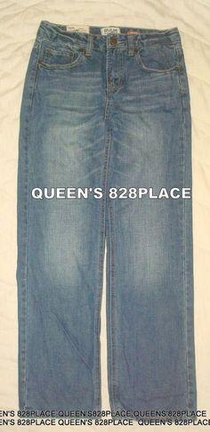 6a5fcd0bf81ee Details about Wrangler Boys Blue Denim Jeans Pants Loose Fit Adjustable  Waist Boys Size 16R
