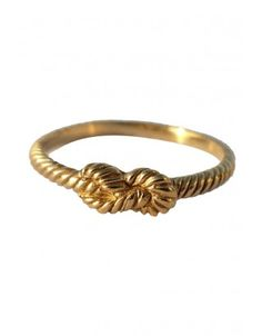 ZOE & MORGAN-forget me knot gold