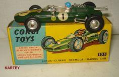 vintage Corgi Lotus F1 Coventry Climax diecast.