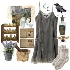 witch aesthetic makeup kitchen witch More - aestheticmakeup Witch Aesthetic, Aesthetic Fashion, Aesthetic Clothes, Look Fashion, Fashion Outfits, Modern Witch Fashion, Aesthetic Makeup, Witchy Outfit, Three Days Grace