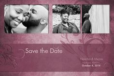 Enregistrer la Date faire part de mariage par CompulsiveKreations