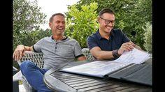 Die Lebenspartner Volker Brandt und Hardy Jaeschke haben sich im Aggertal den passenden Rahmen für ihren Traum vom Wohnen geschaffen. Auf über 170 Quadratmeter Wohnfläche mit zahlreichen architektonischen Finessen fühlen sich die Bauherren rundum wohl.  #kernhaus #homestory #wohntraum #bauhaus #hausträume