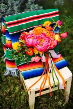 Spanish Weddings || Cinco de Mayo inspiration bouquet