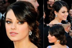 Bridesmaid hairstyle a