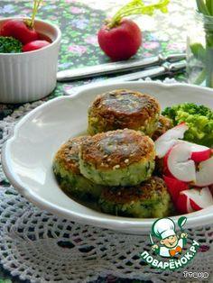 Шарики из брокколи и картофеля (постные) - кулинарный рецепт