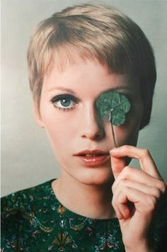 It was a big deal when she came out with this pixie cut after having long hair - then marrying Sinatra!