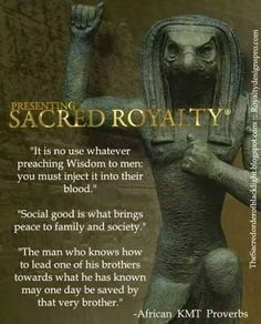 ancient egyptian sayings quotes Black History Quotes, Black History Facts, Spiritual Wisdom, Spiritual Awakening, Spiritual Health, Ancient Egypt, Ancient History, Aliens, African Proverb