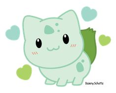 More: Chibi Bulbasaur ------------------------------------------------------------------ © Art – Daieny Schuttz © Characters – Nin. Bulbasaur, Pokemon Party, Pokemon Fan, Kawaii Chibi, Cute Chibi, Cute Pokemon Pictures, Cute Pictures, Kawaii Drawings, Pikachu Kawai