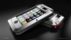 LUNATIK TAKTIK iPhone case by MINIMAL , via Behance