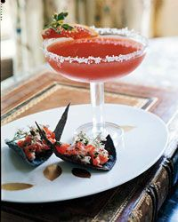 Blood Orange Margaritas Recipe on Food & Wine. Halloween drink recipe