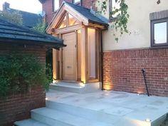 16 ideas house entrance porch window for 2019 Porch Windows, Porch Doors, Small Front Porches, Front Porch Design, Porch Extension, Dormer Bungalow, Porch Interior, Veranda Design, House Architecture Styles