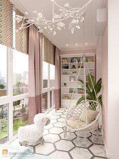 Interior Balcony, Apartment Balcony Decorating, Apartment Interior, Room Interior, Home Room Design, Home Interior Design, Luxury Bedroom Design, Small Balcony Decor, Balcony Design