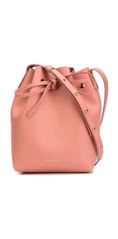 I've been eyeing these Mansur Gavriel bucket bag (the OG)…ugh they're soooo cute! Would someone please get them for me?