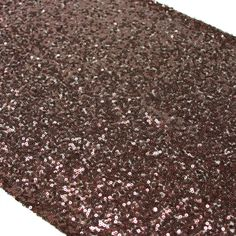 Sequin Table Runner - Brown [404452] : Wholesale Wedding Supplies, Discount Wedding Favors, Party Favors, and Bulk Event Supplies
