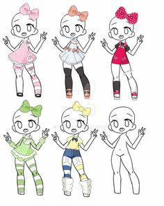 Outfit Adopt Set[Open] by yuki-white