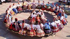"Hungarian folk dance A ""szer"" Lyrical Dance, Jazz Dance, Folk Dance, Hip Hop Dance, Vintage Costumes, Vintage Outfits, Polish Clothing, Folk Clothing, Hungarian Dance"