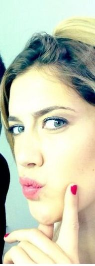 Angie para el photoshoot
