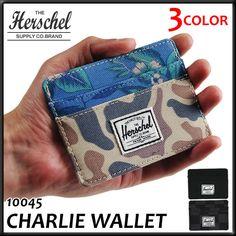 ハーシェル サプライ カードケース チャーリー ウォレット HERSCHEL SUPPLY CHARLIE WALLET パスケース カード入れ 【楽ギフ_包装】【楽天市場】